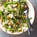 Caesar Green Bean Salad