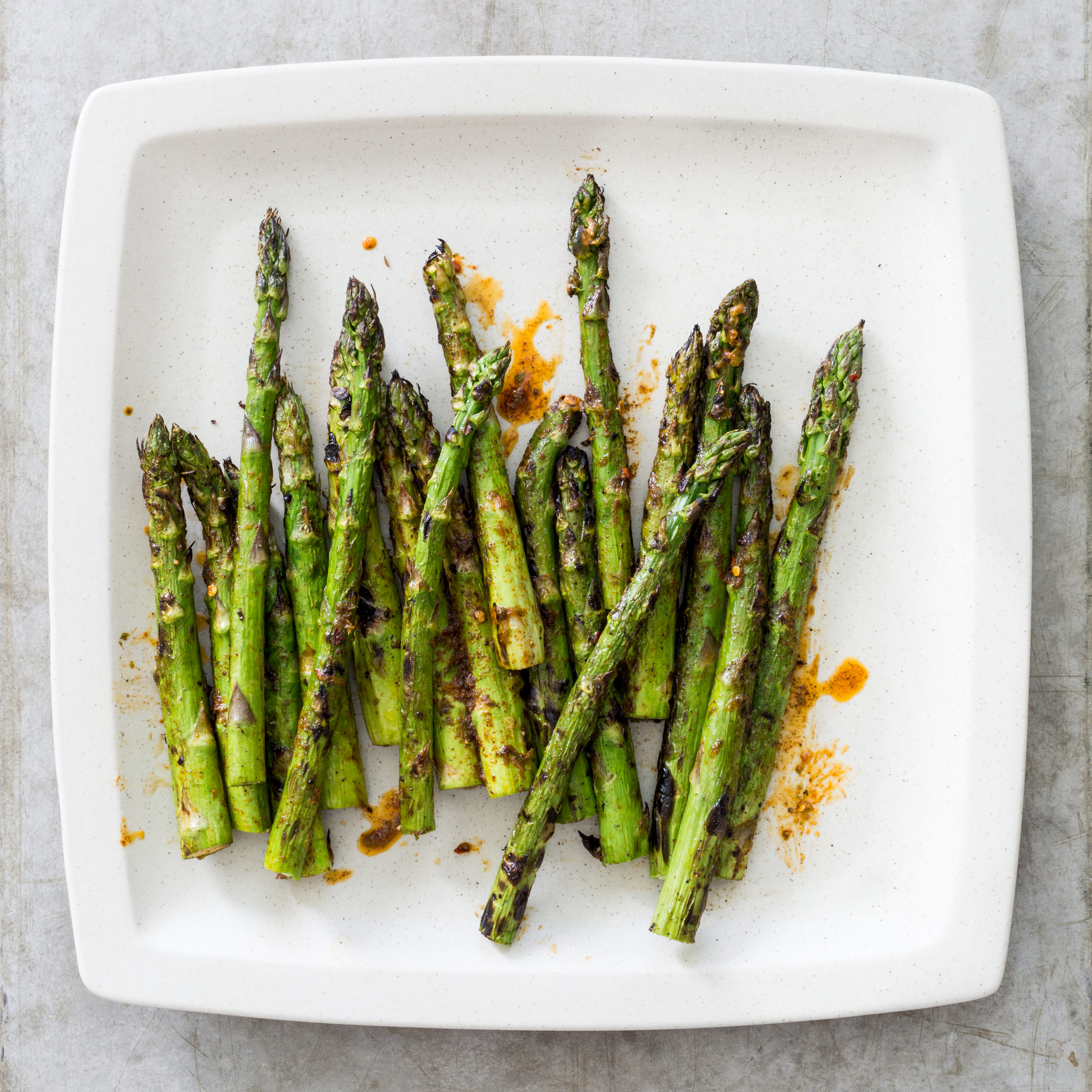 Grilled Asparagus with Chili-Lime Butter