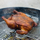 Charcoal Grill-Roasted Whole Chicken