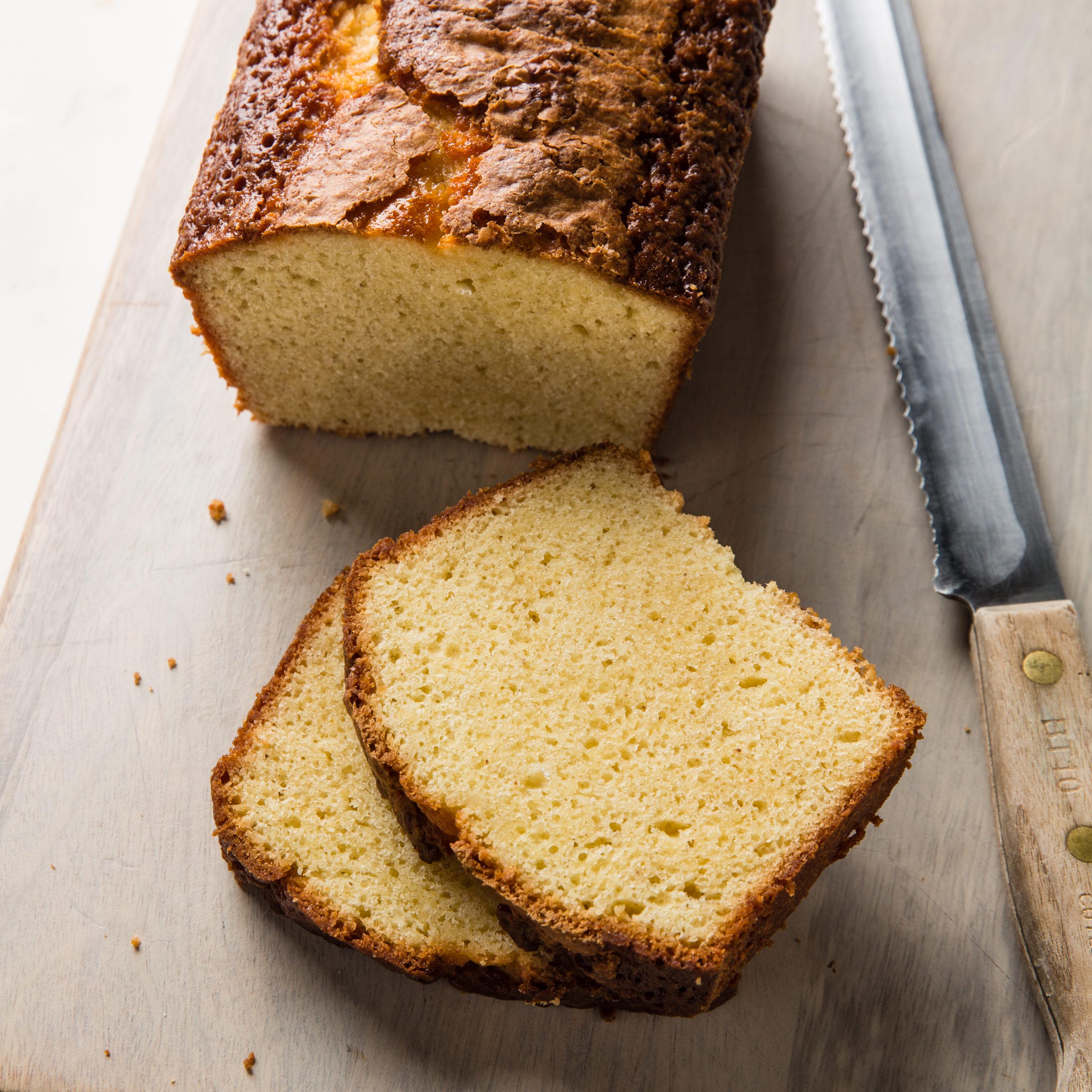 Easy Ginger Pound Cake