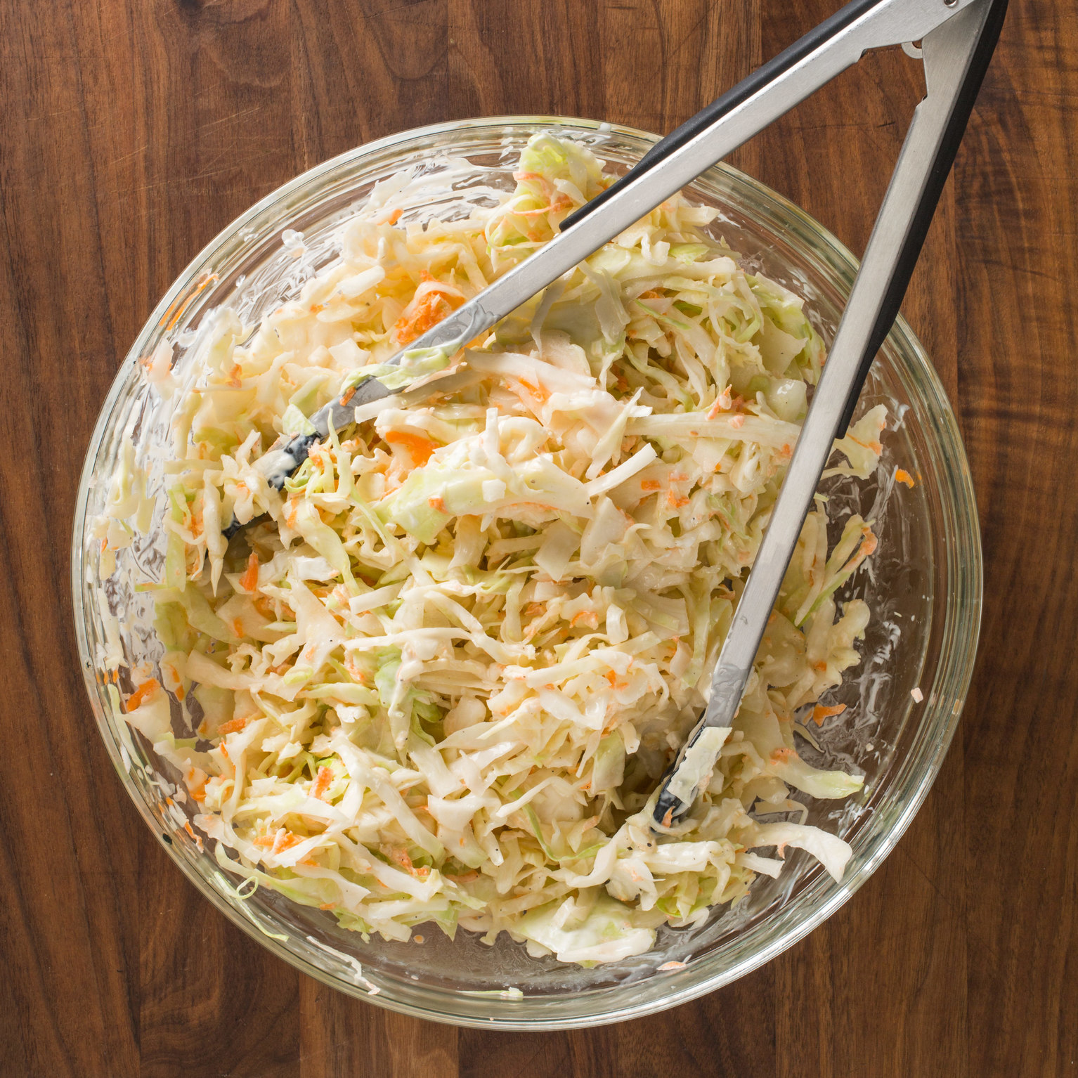 Creamy Buttermilk Coleslaw America S Test Kitchen