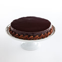 Chocolate-Pecan Torte with Chocolate Glaze