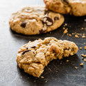 Salted Peanut Butter–Pretzel–Chocolate Chip Cookies