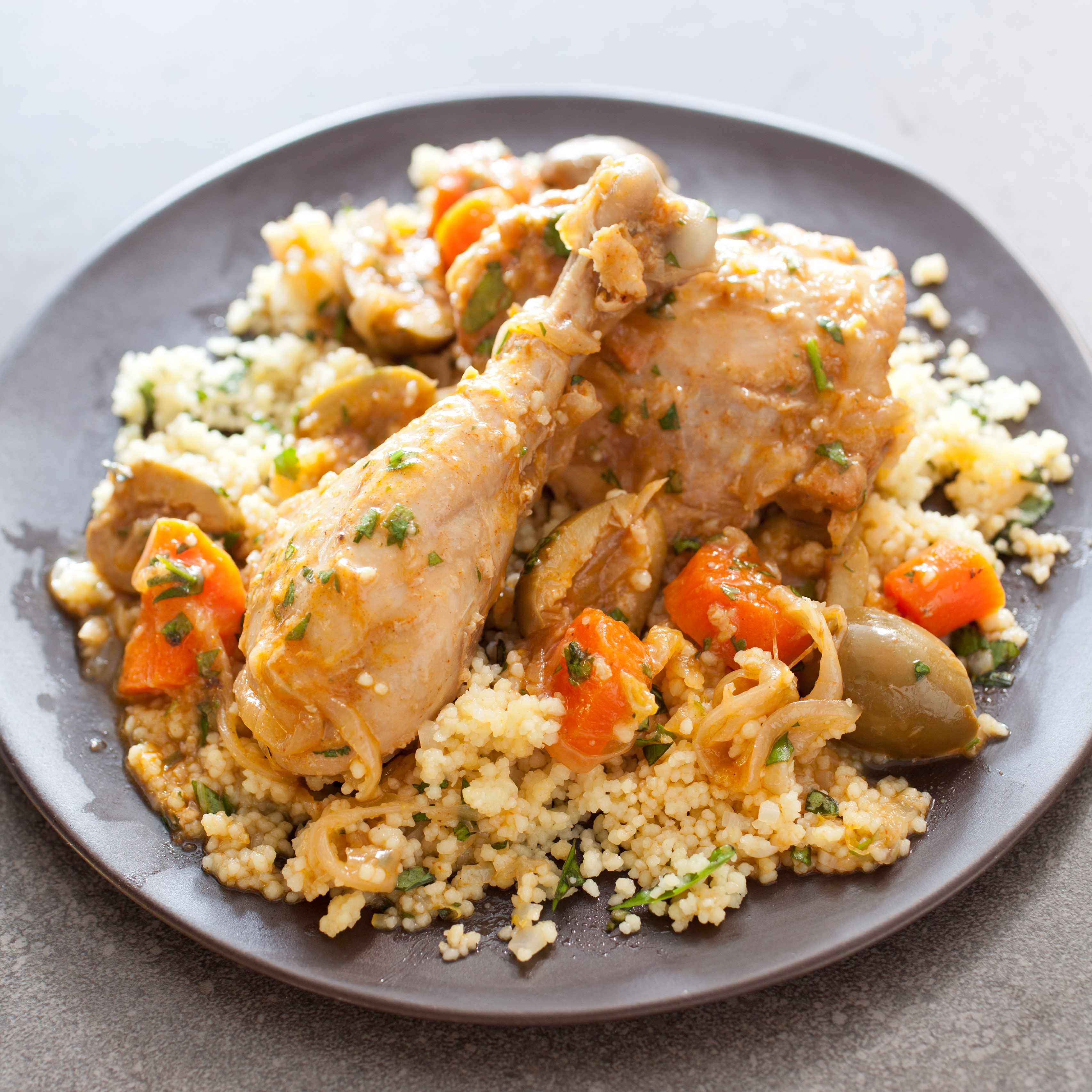 Moroccan Chicken With Olives And Lemon Chicken Tagine