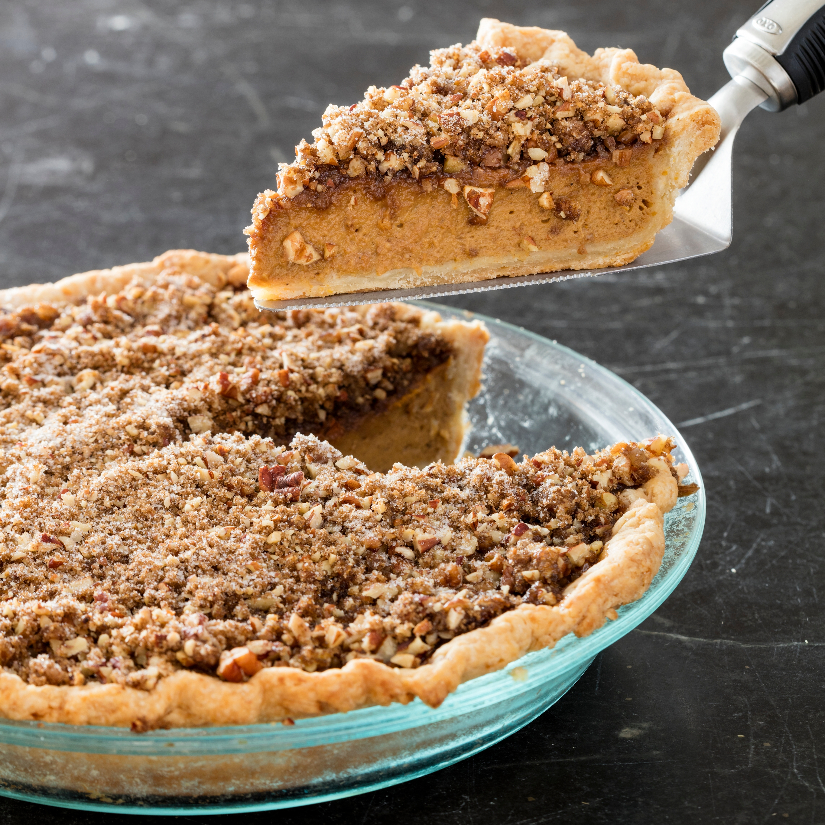 Pumpkin Praline Pie Recipe — Dishmaps