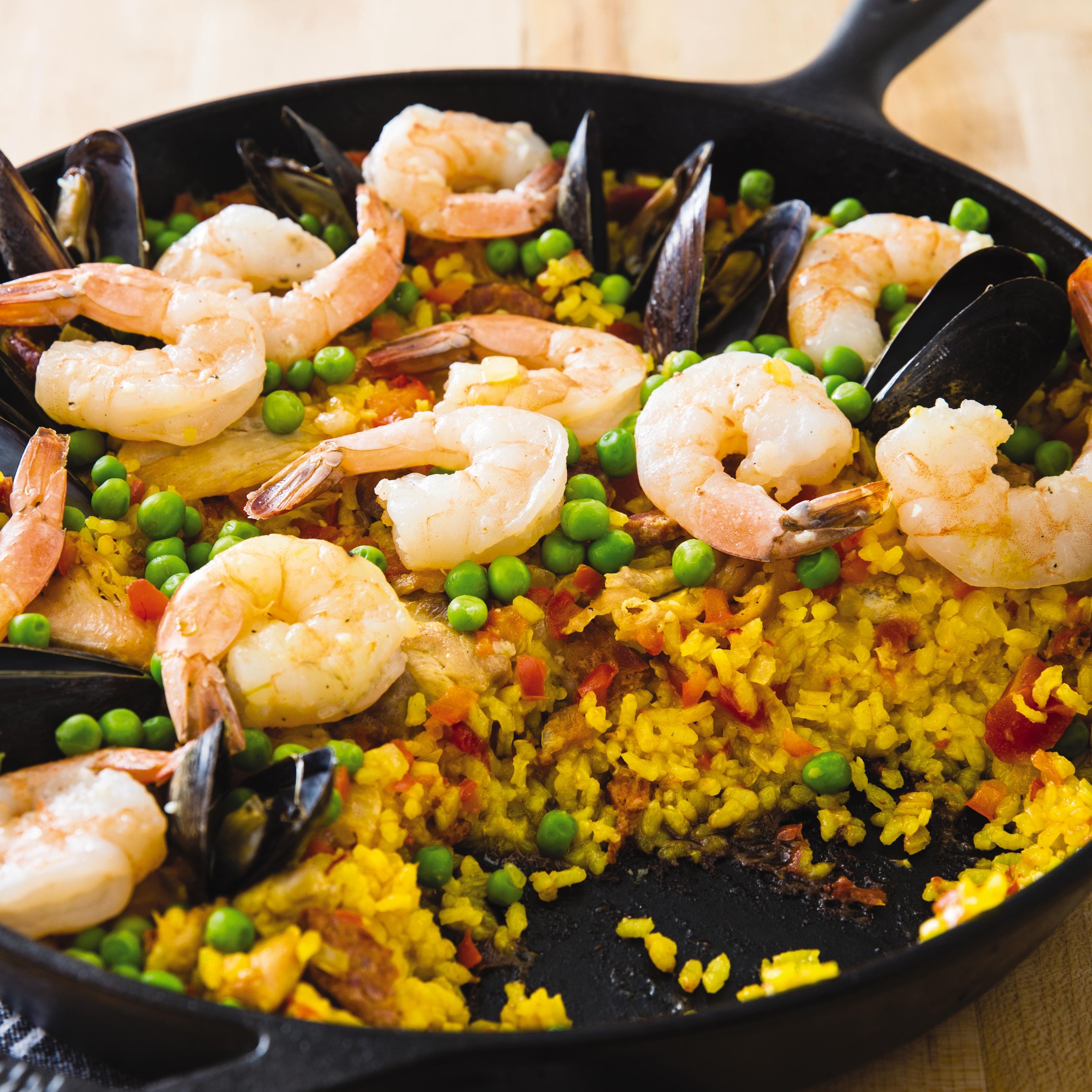 America S Test Kitchen Paella