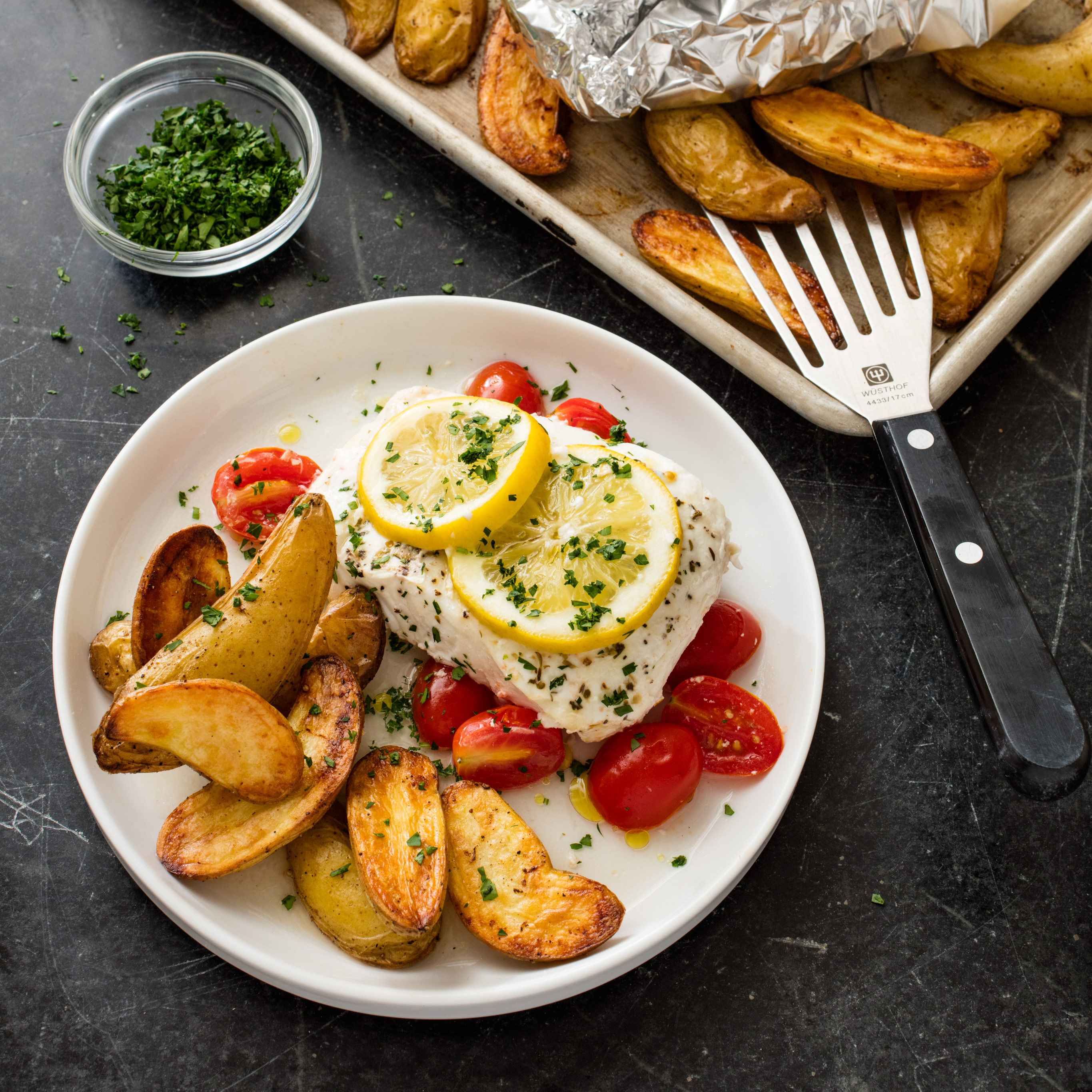 America S Test Kitchen Poached Halibut