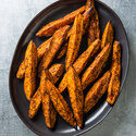 Cumin and Chili Roasted Sweet Potato Wedges