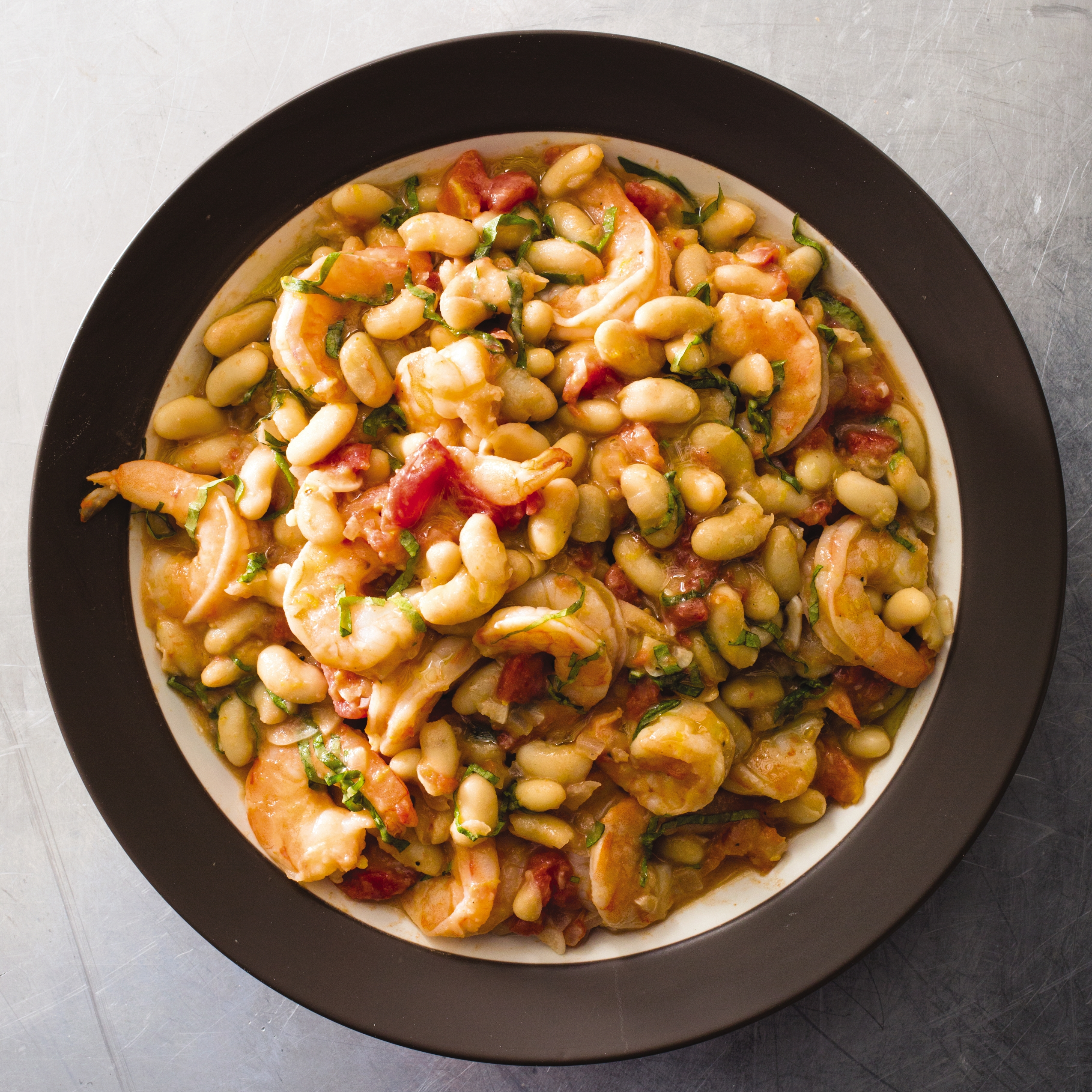 Tuscan Shrimp and Beans | Cook's Illustrated
