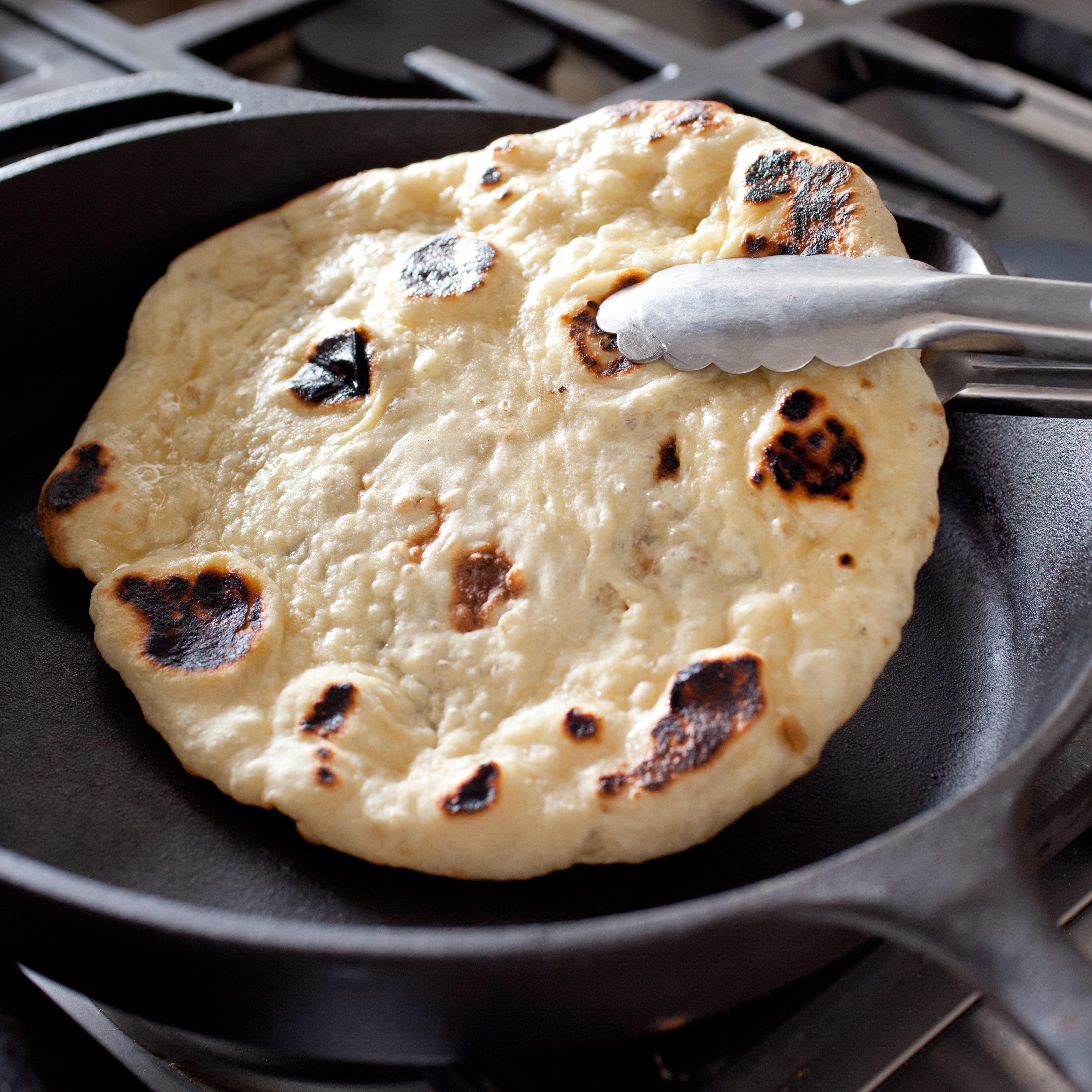 Indian flatbread naan americas test kitchen forumfinder Choice Image