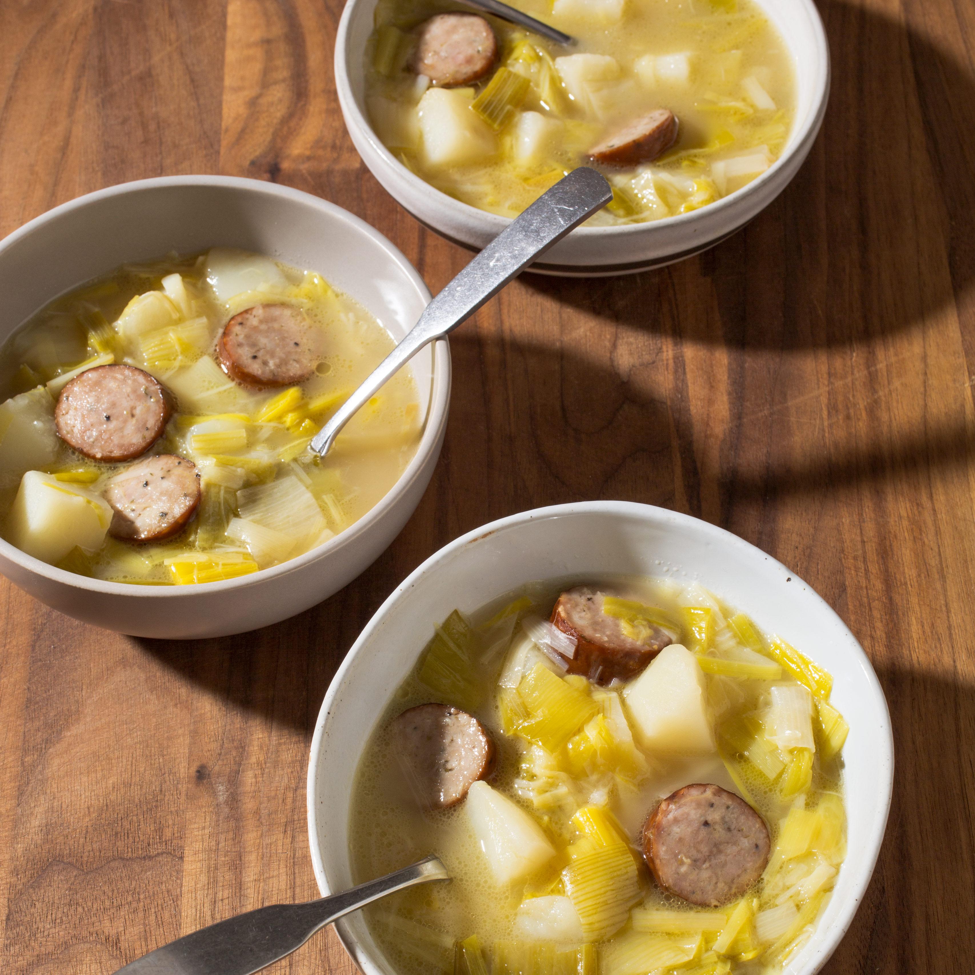 Potato Leek Soup America S Test Kitchen
