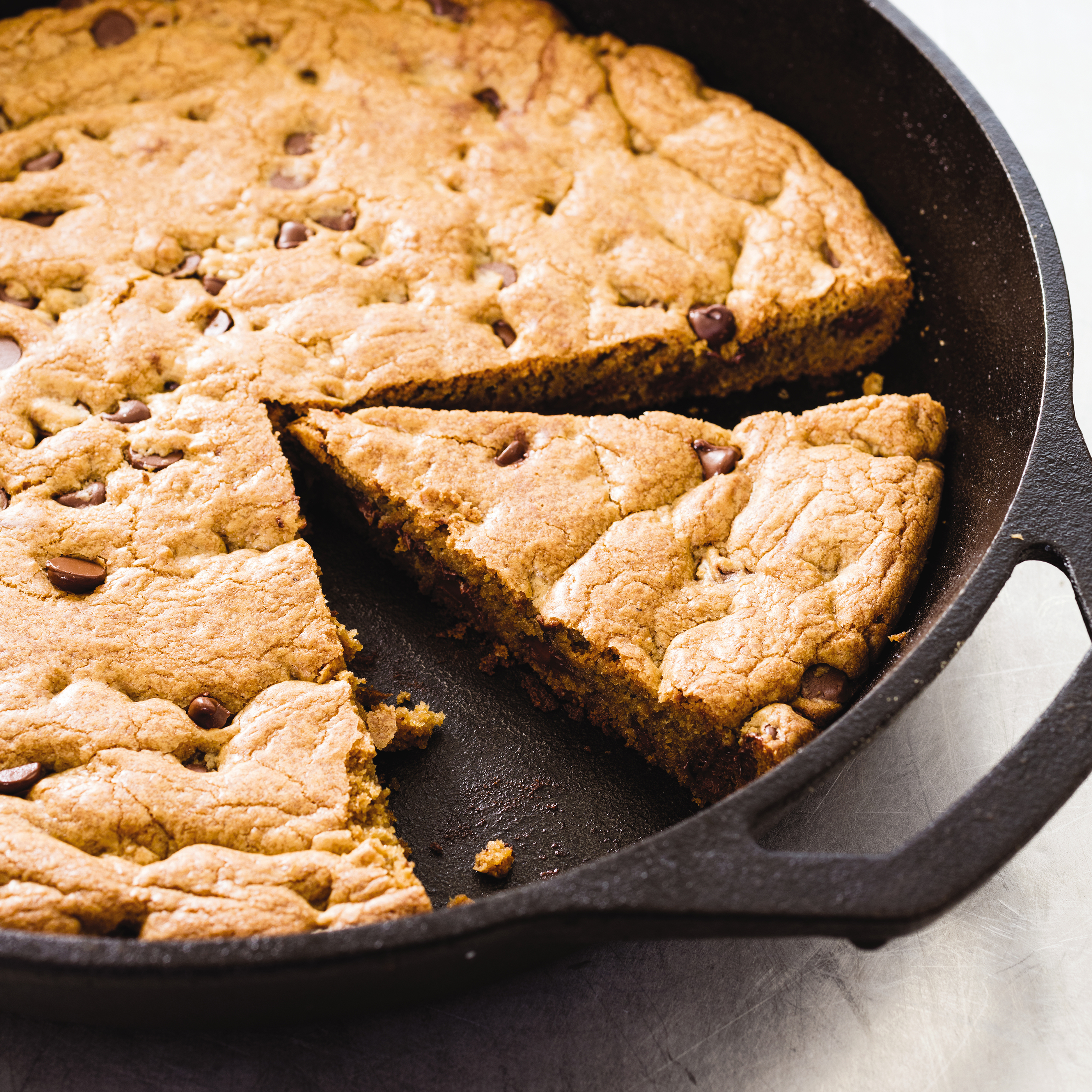 Cast Iron Skillet Chocolate Chip Cookie Americas Test Kitchen