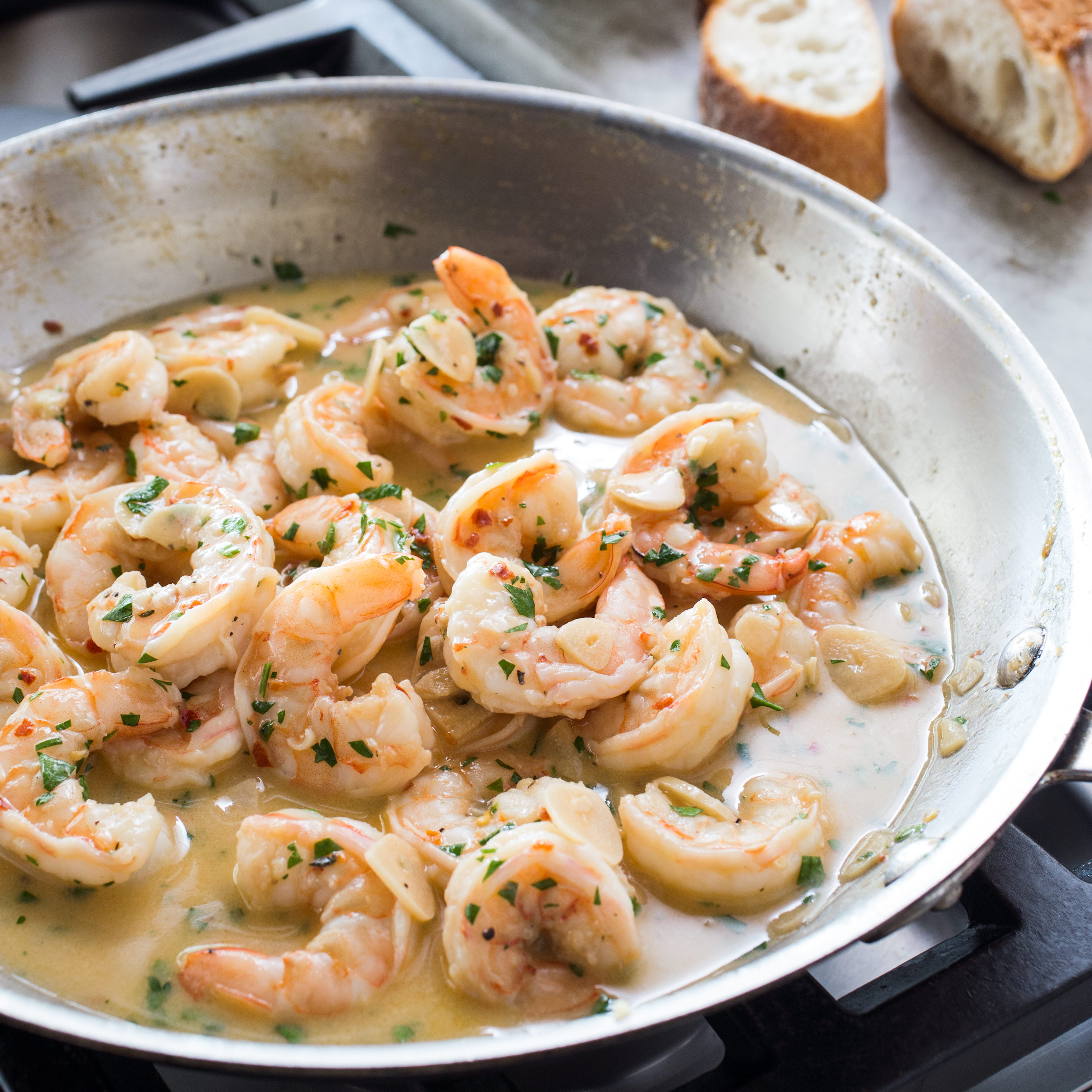 America S Test Kitchen Shrimp Scampi Recipe