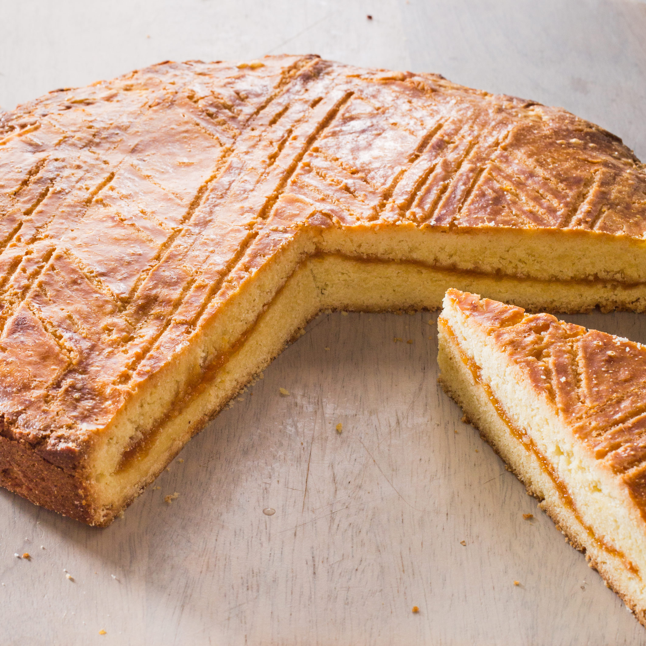gâteau breton with apricot filling america s test kitchen