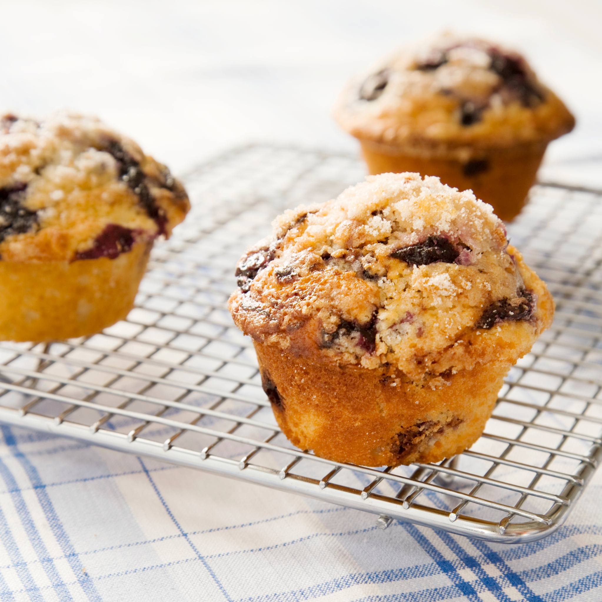 Blueberry muffin: recipe with photos 45