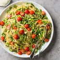 Spaghetti with Spring Vegetables