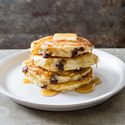 Chocolate Chip–Coconut Pancakes