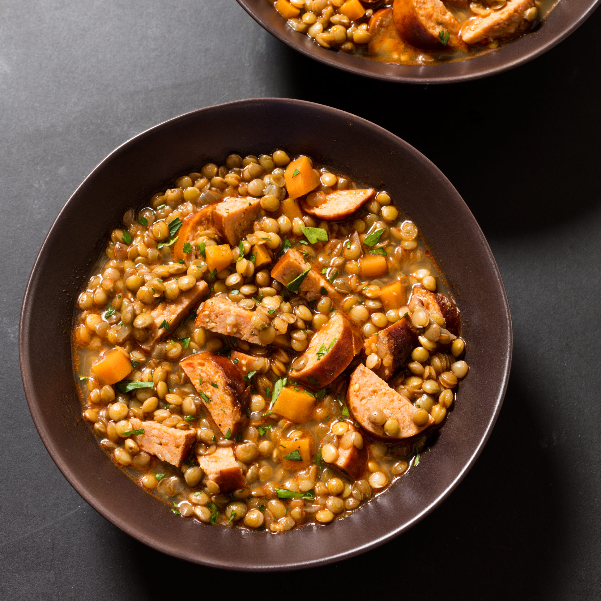 Lentil Chorizo Soup America S Test Kitchen