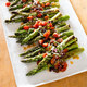 Pan-Roasted Asparagus with Cherry Tomatoes and Black Olives