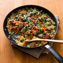 Orzo with Sausage and Broccoli Rabe