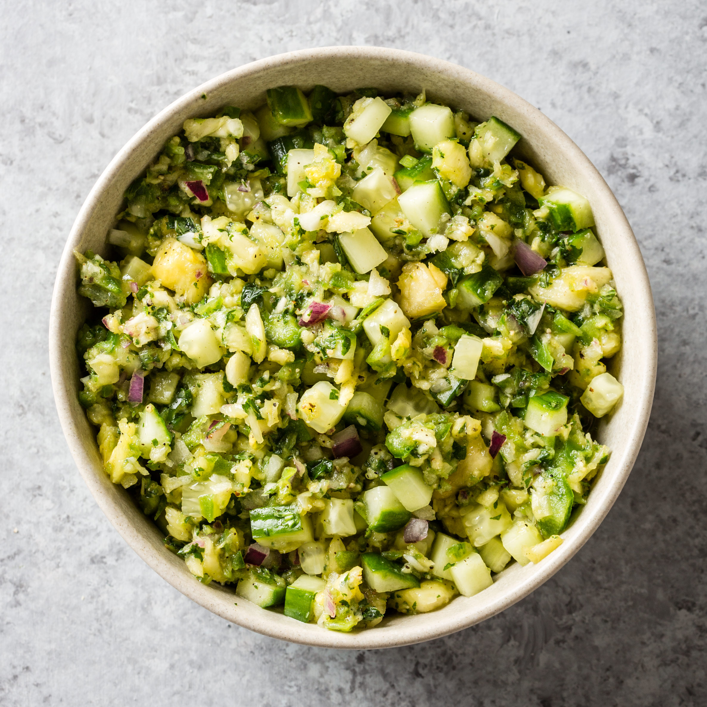 Pineapple-Cucumber Salsa | Cook's Country