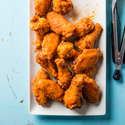 Buffalo-Style Grill-Fried Chicken Wings