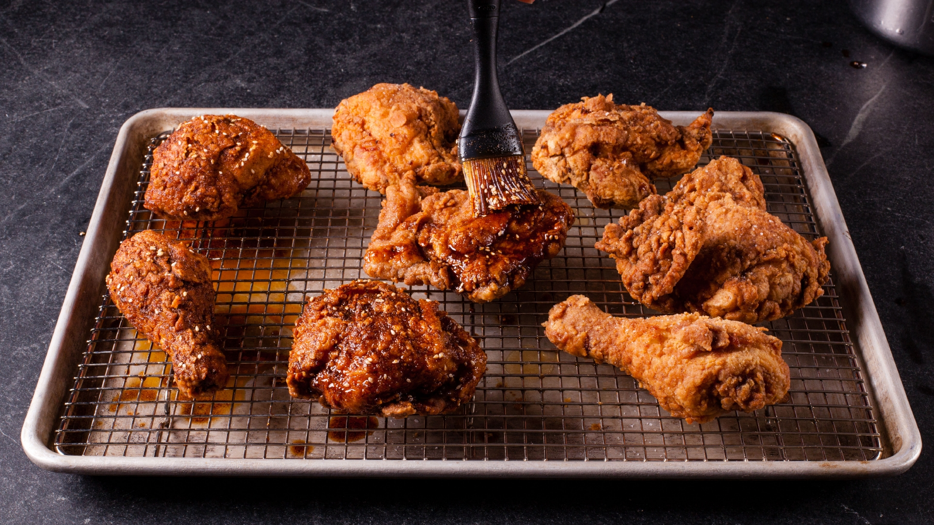 Mole Hot Fried Chicken | Cook's Illustrated