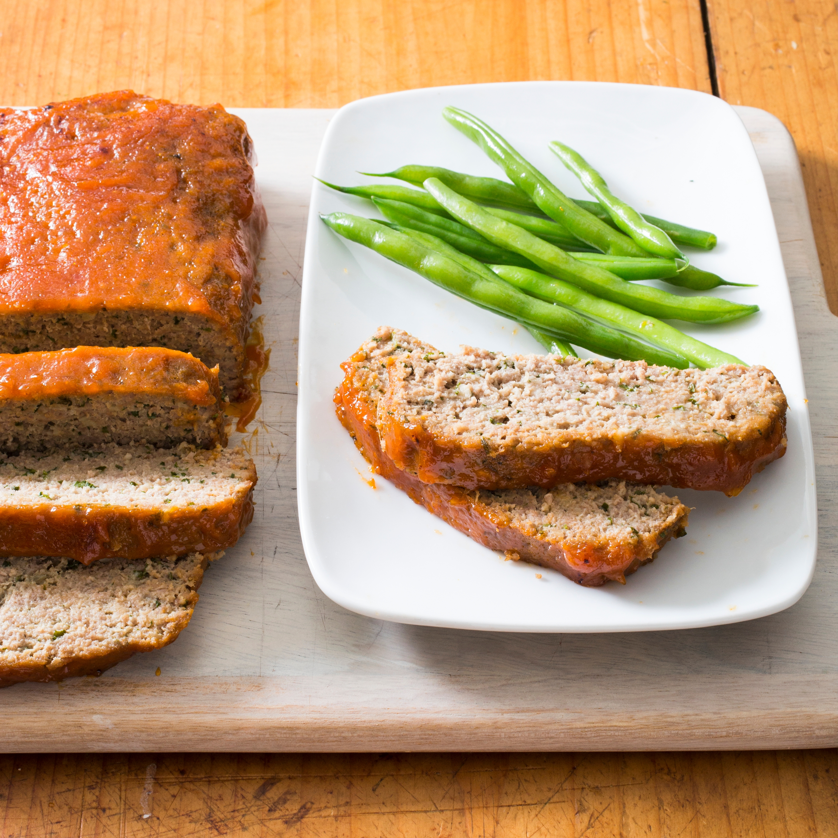 31acea938cc6 Turkey Meatloaf with Apricot-Mustard Glaze