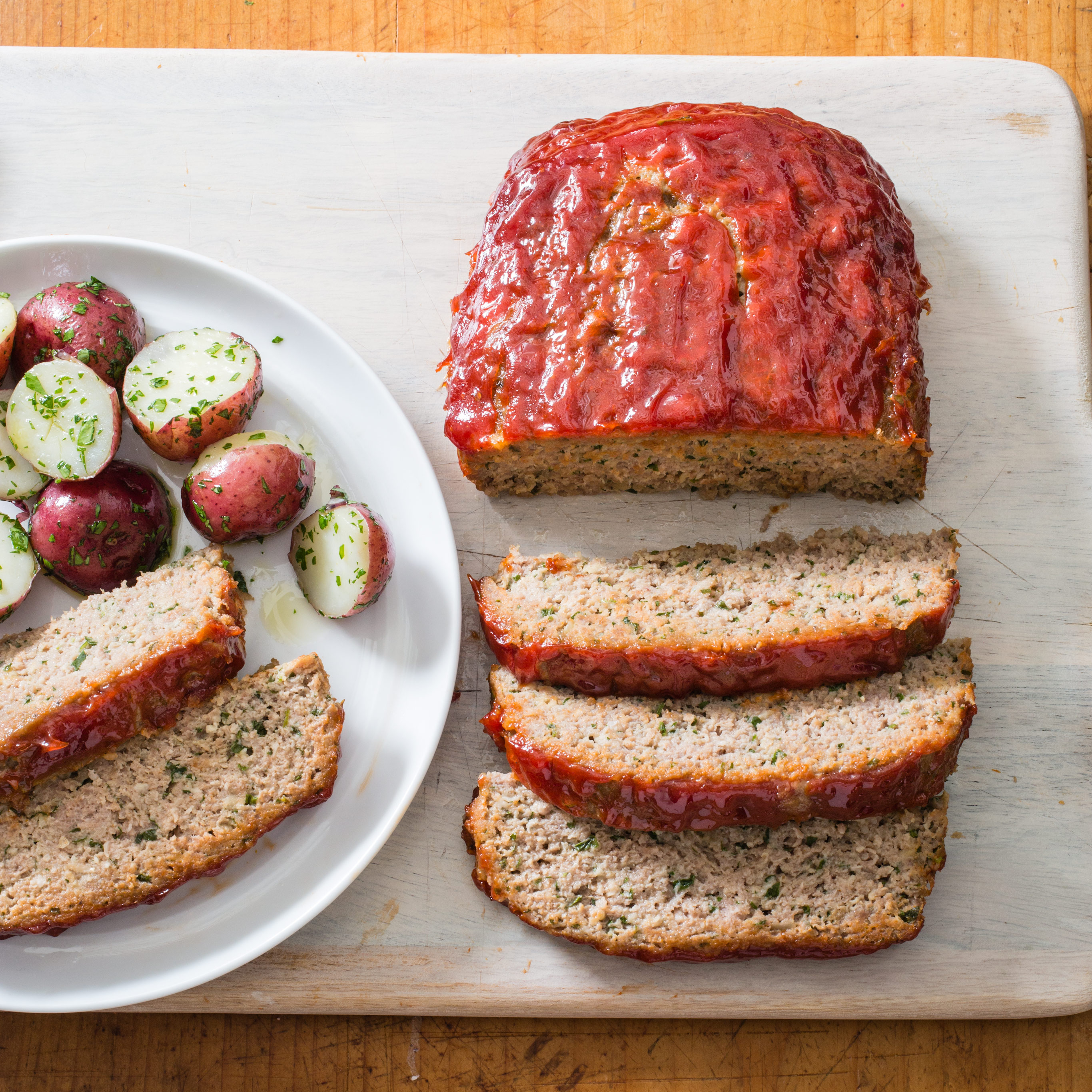 Turkey Meatloaf with Ketchup-Brown Sugar Glaze | America's ...