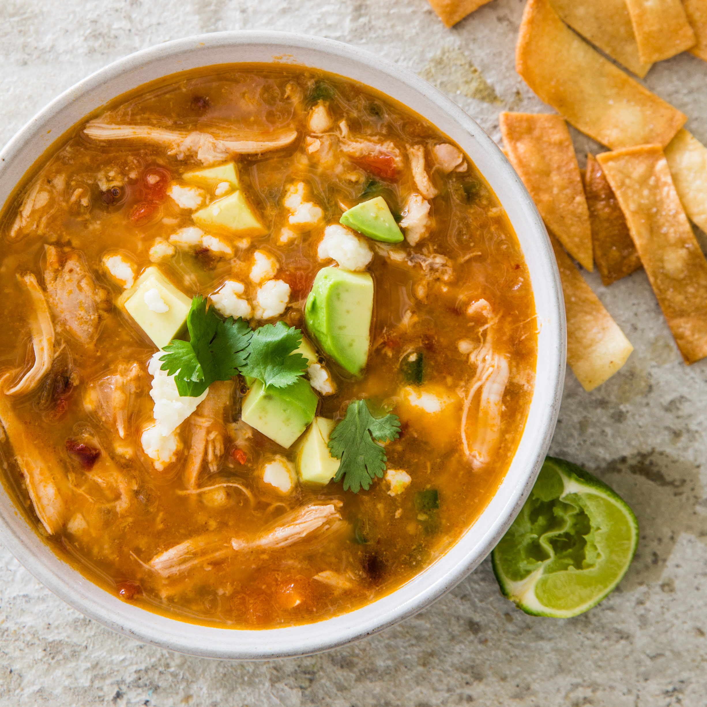 Food And Wine Tortilla Soup Recipe
