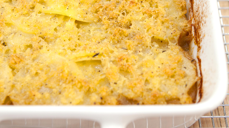 Test Kitchen Olive Oil Potato Gratin