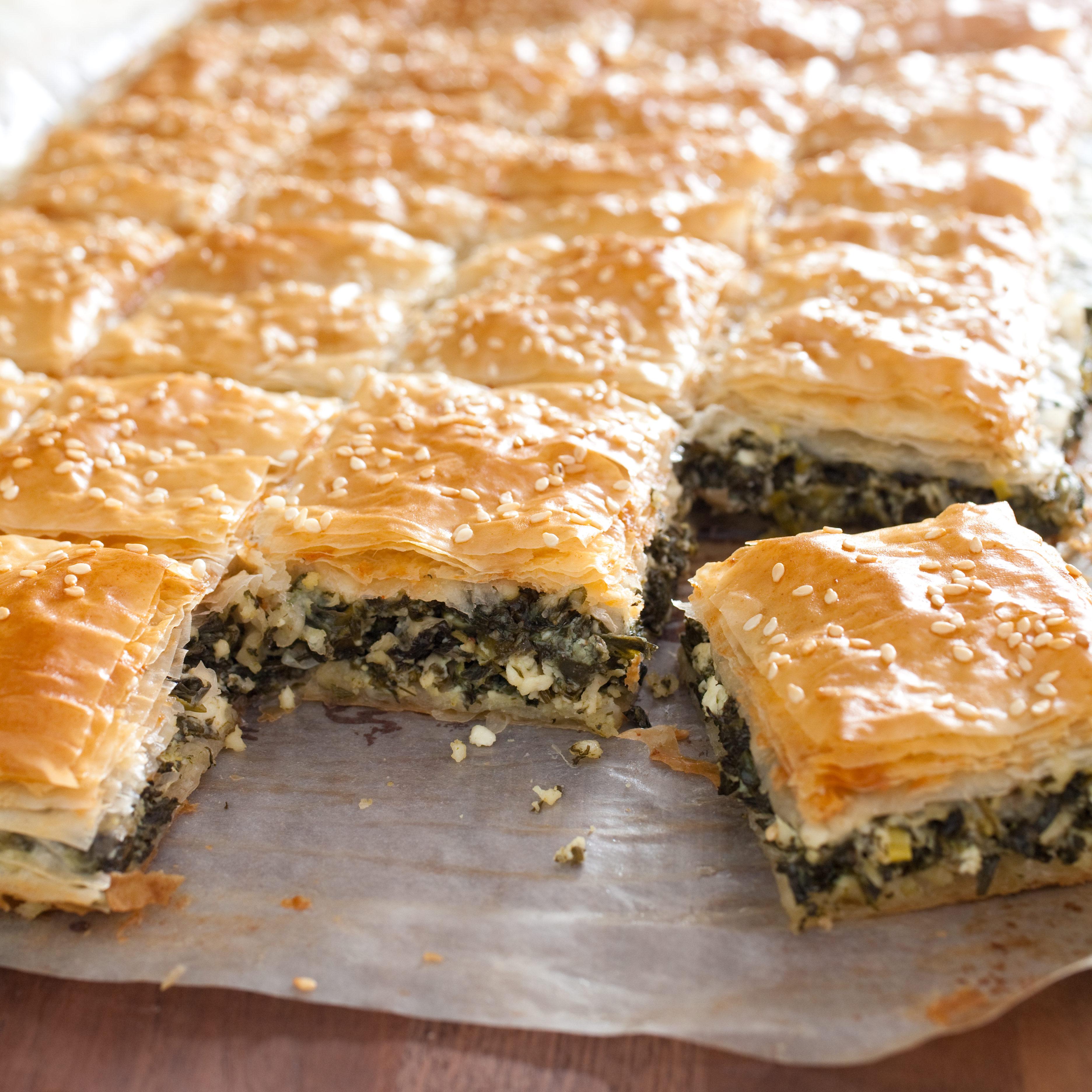 Greek Spinach And Feta Pie Spanakopita America S Test