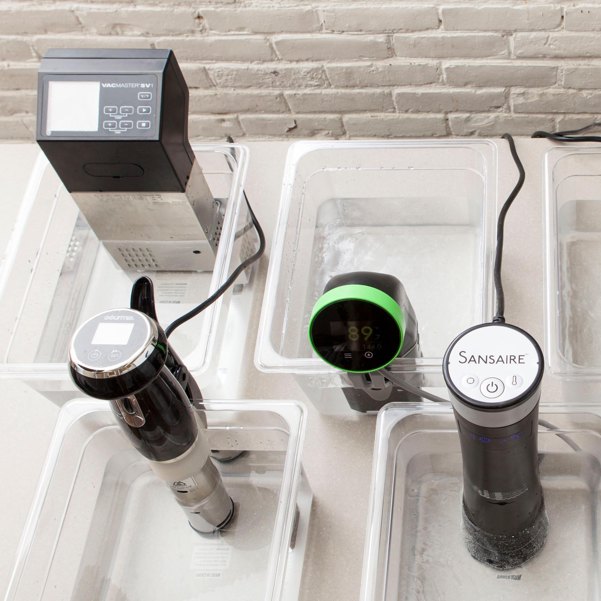 Testing Sous Vide Machines Immersion Circulators