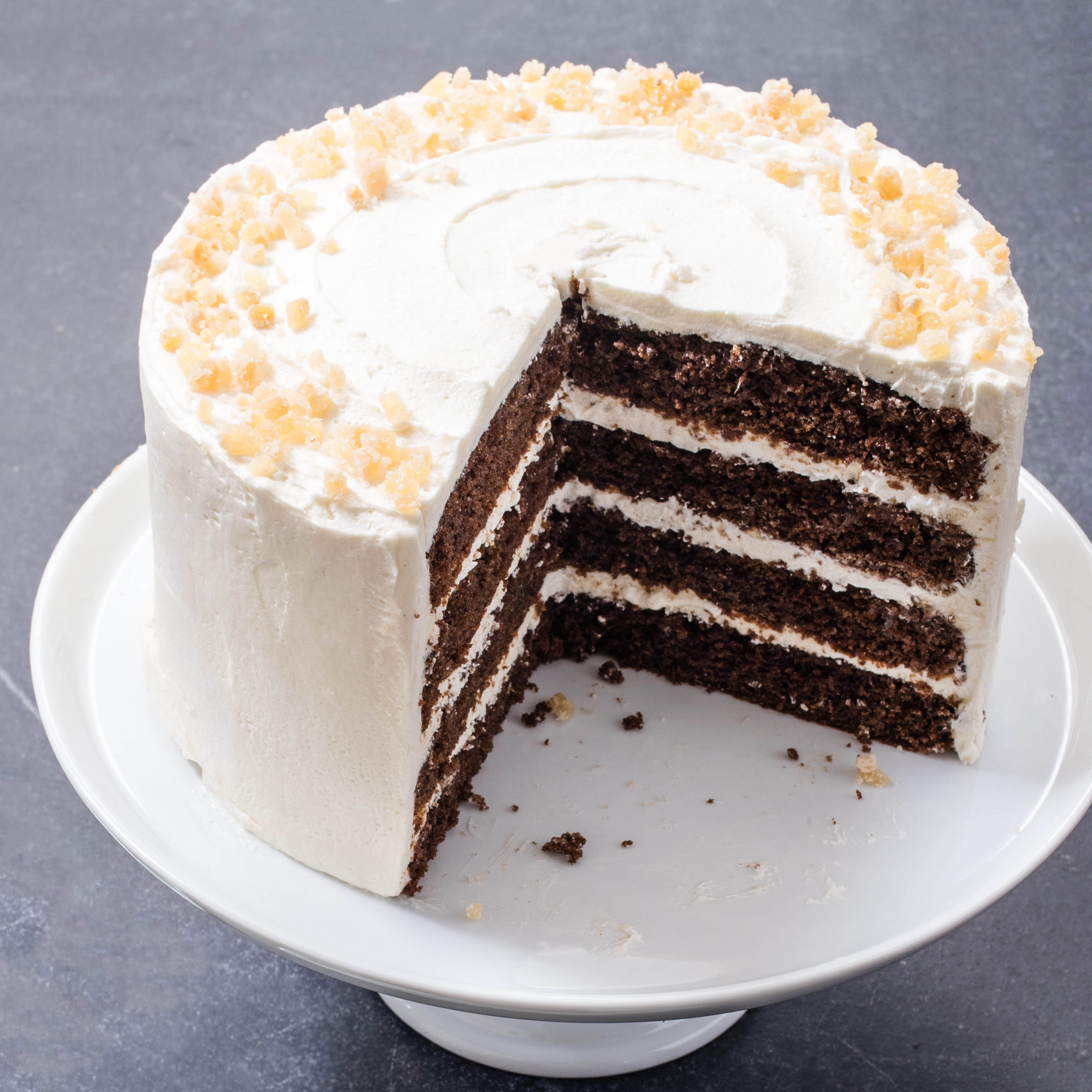 Gingerbread Layer Cake Cooks Illustrated