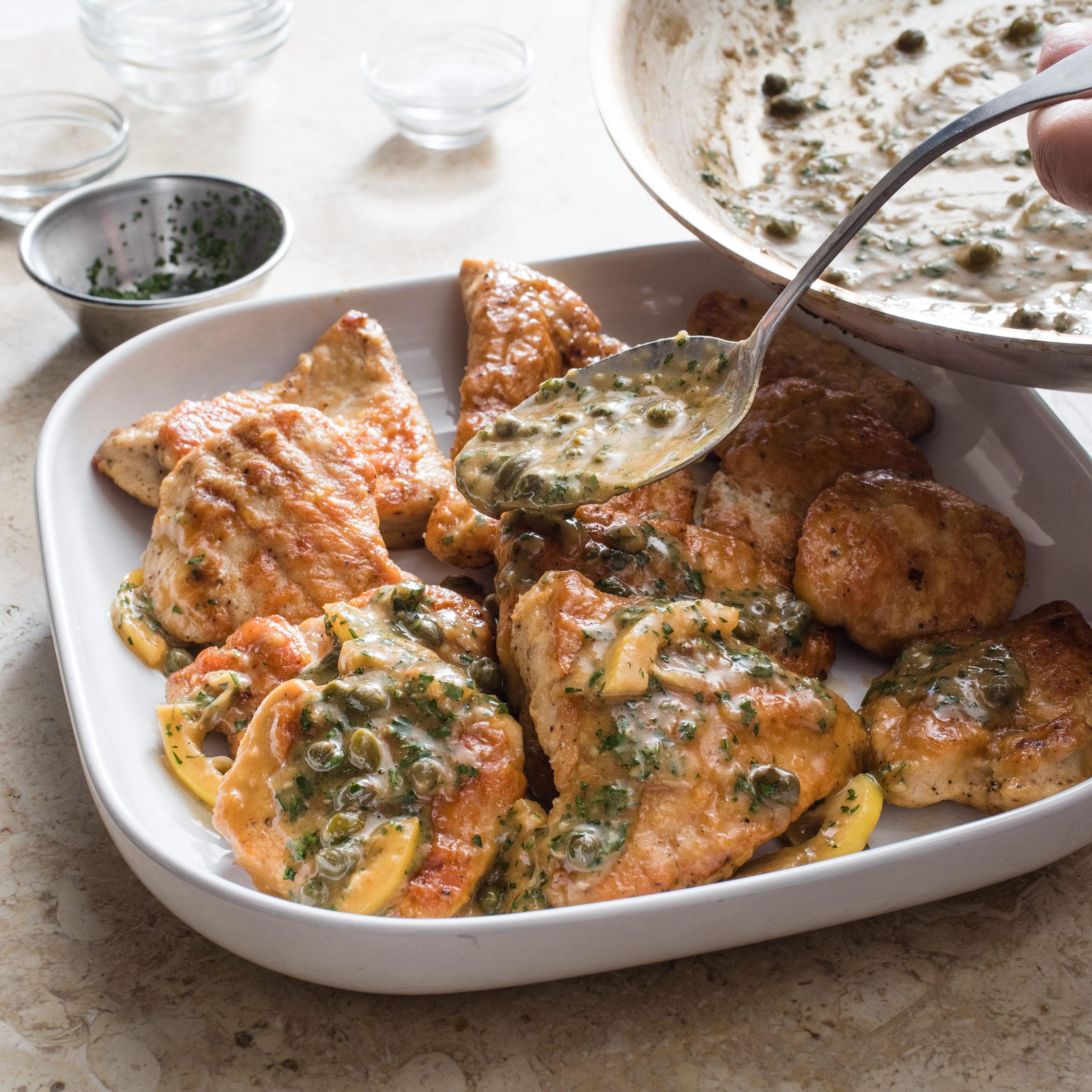 Chicken Piccata Recipe America S Test Kitchen