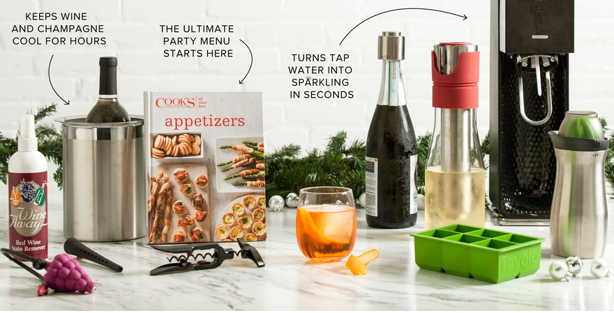 Toast the Holiday Season in Style with These Winning Gadgets