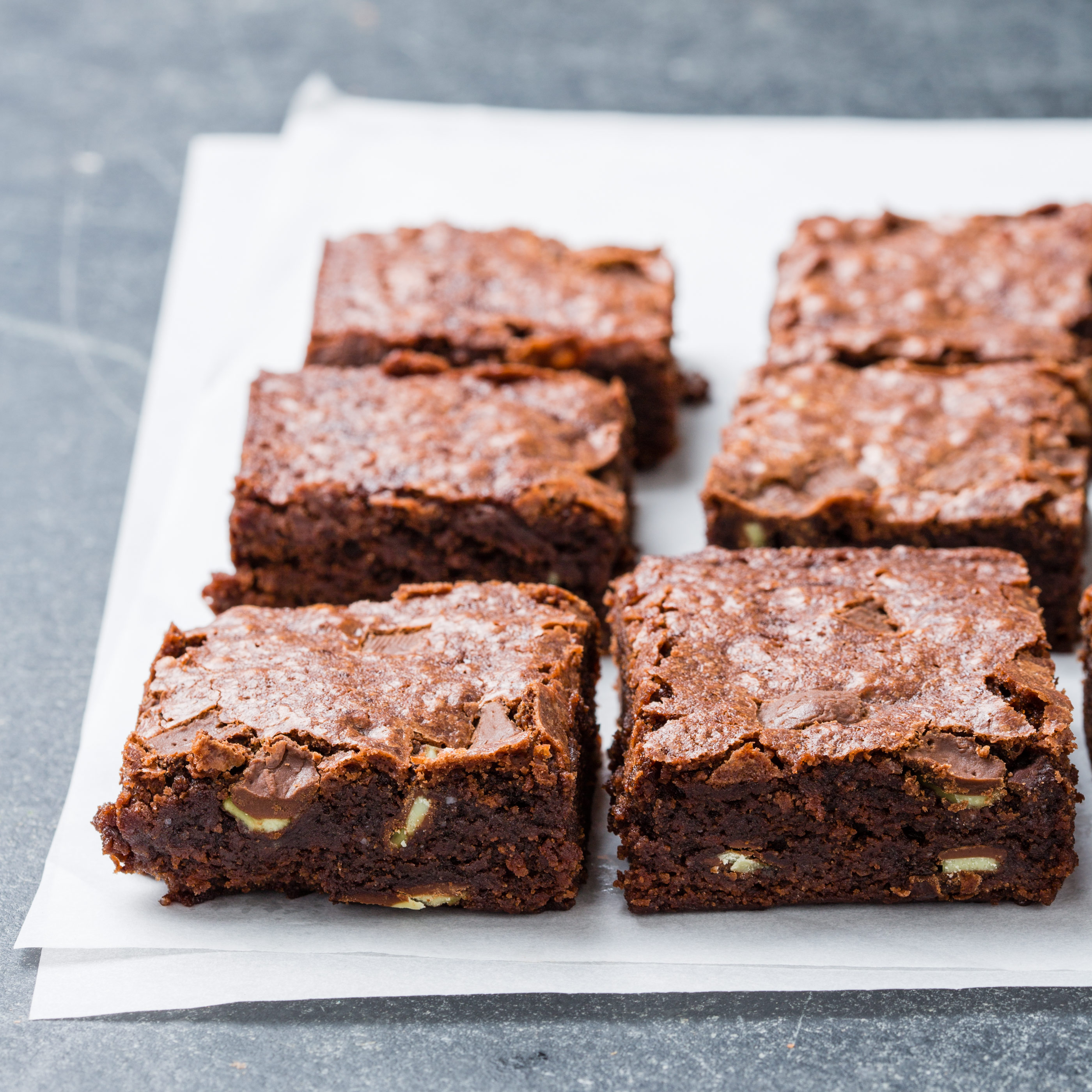 easy chocolate mint brownies cook s country