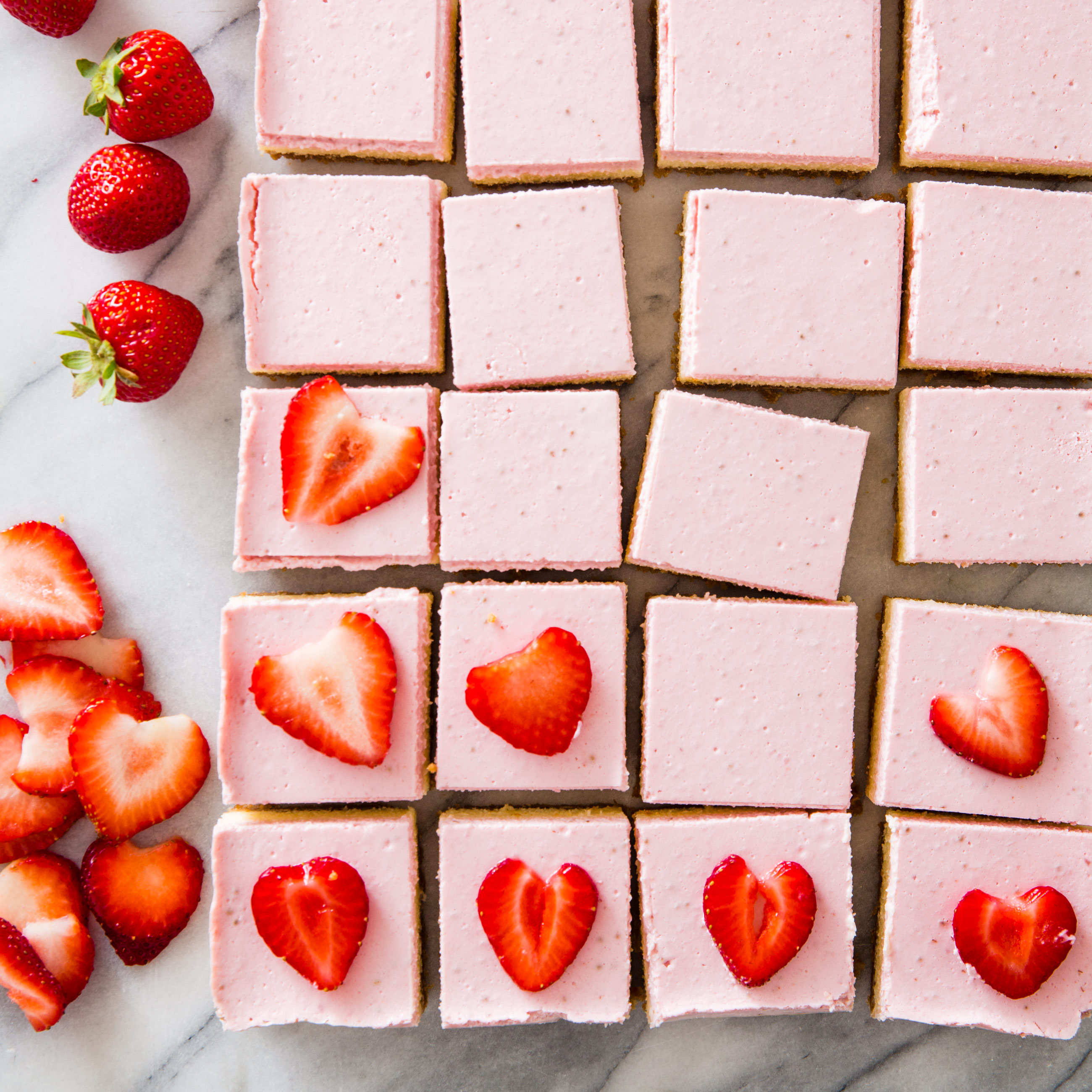 Strawberry Cheesecake Bars Cook S Country