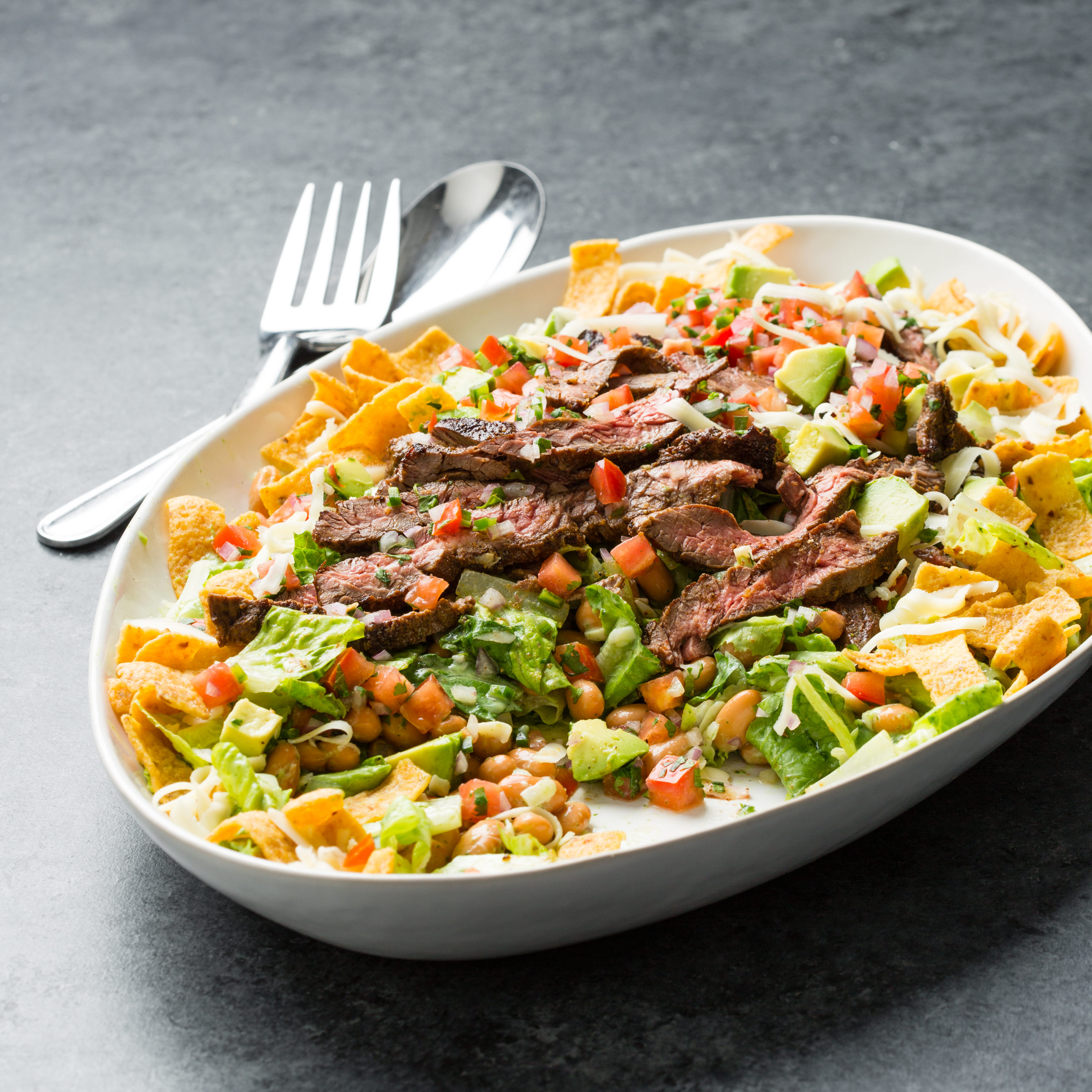 Steak Taco Salad Cook S Country