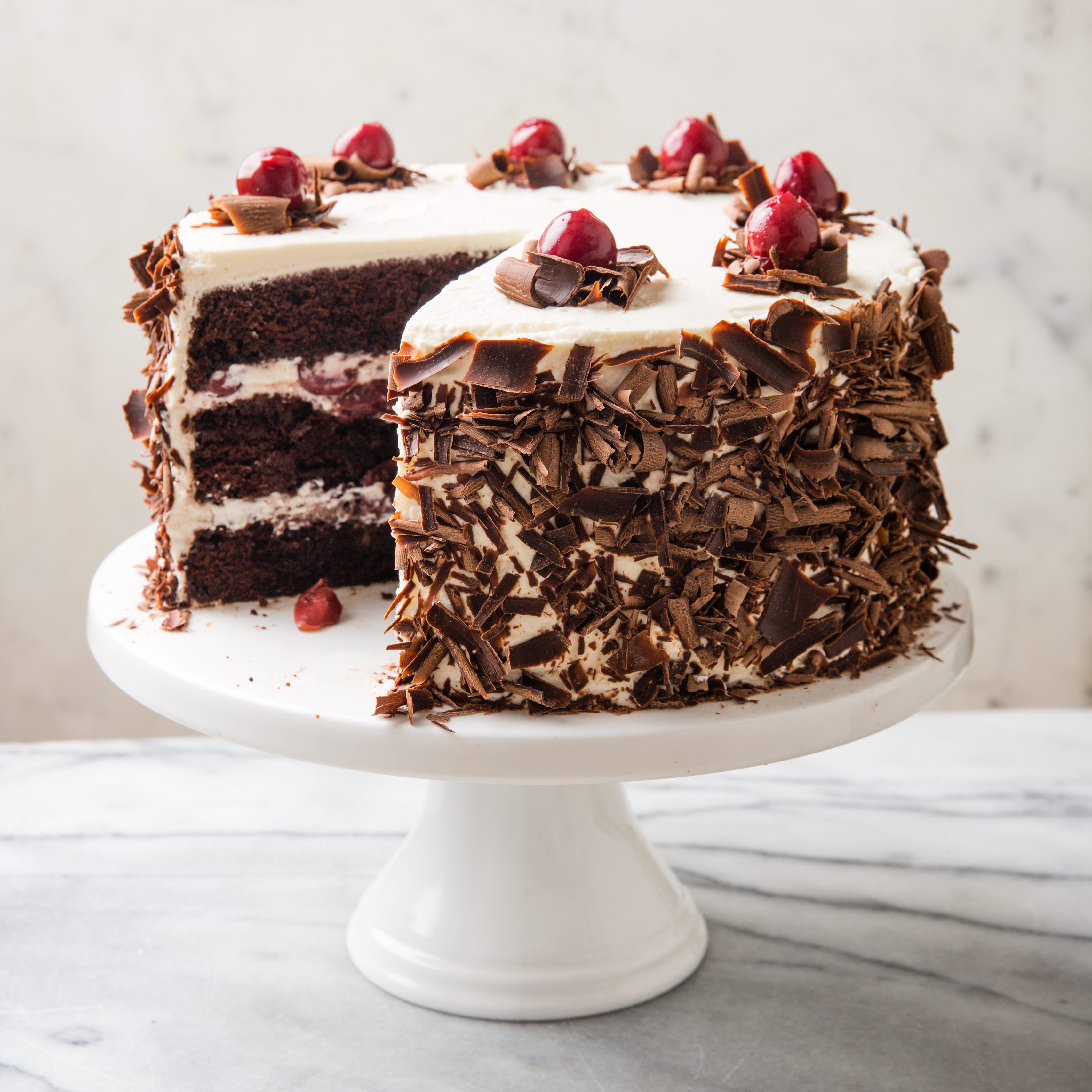 Black Forest Cake Images