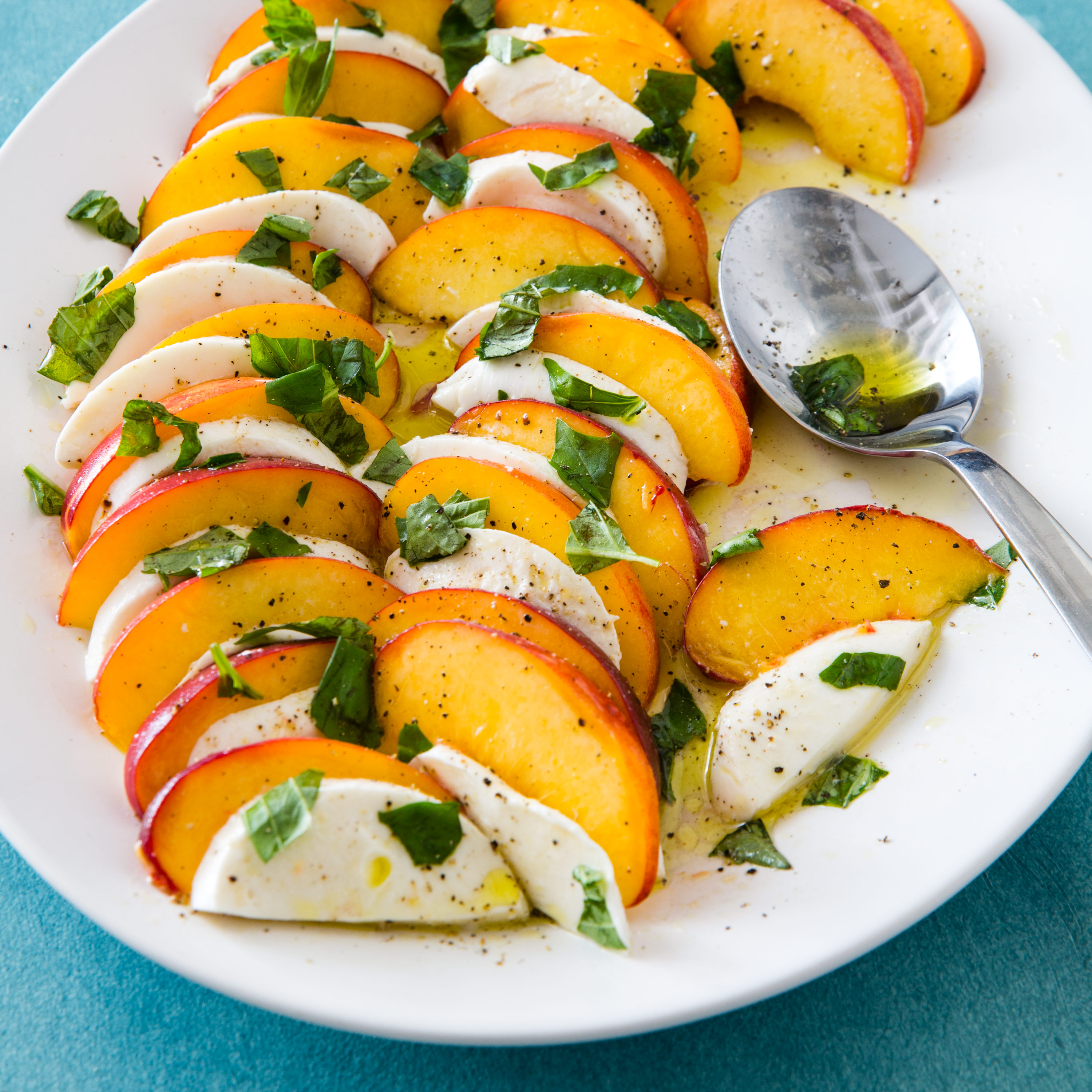Peach Caprese Salad Peach Caprese Salad new photo