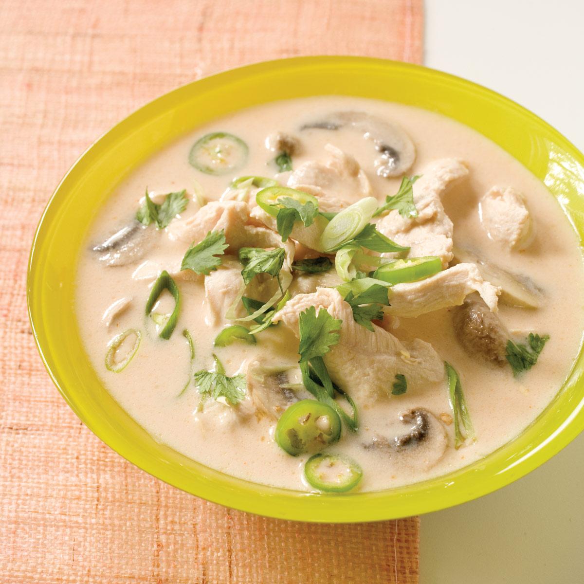 Americas Test Kitchen Thai Coconut Soup