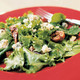 Arugula and Escarole Salad with Blue Cheese, Figs, and Warm Port Dressing