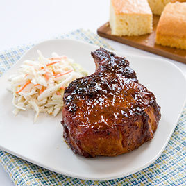 Best Gas Grill-Smoked Pork Chops