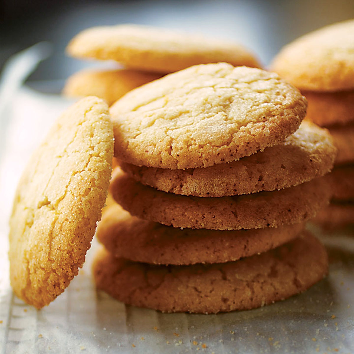 Soft And Chewy Sugar Cookies Recipe