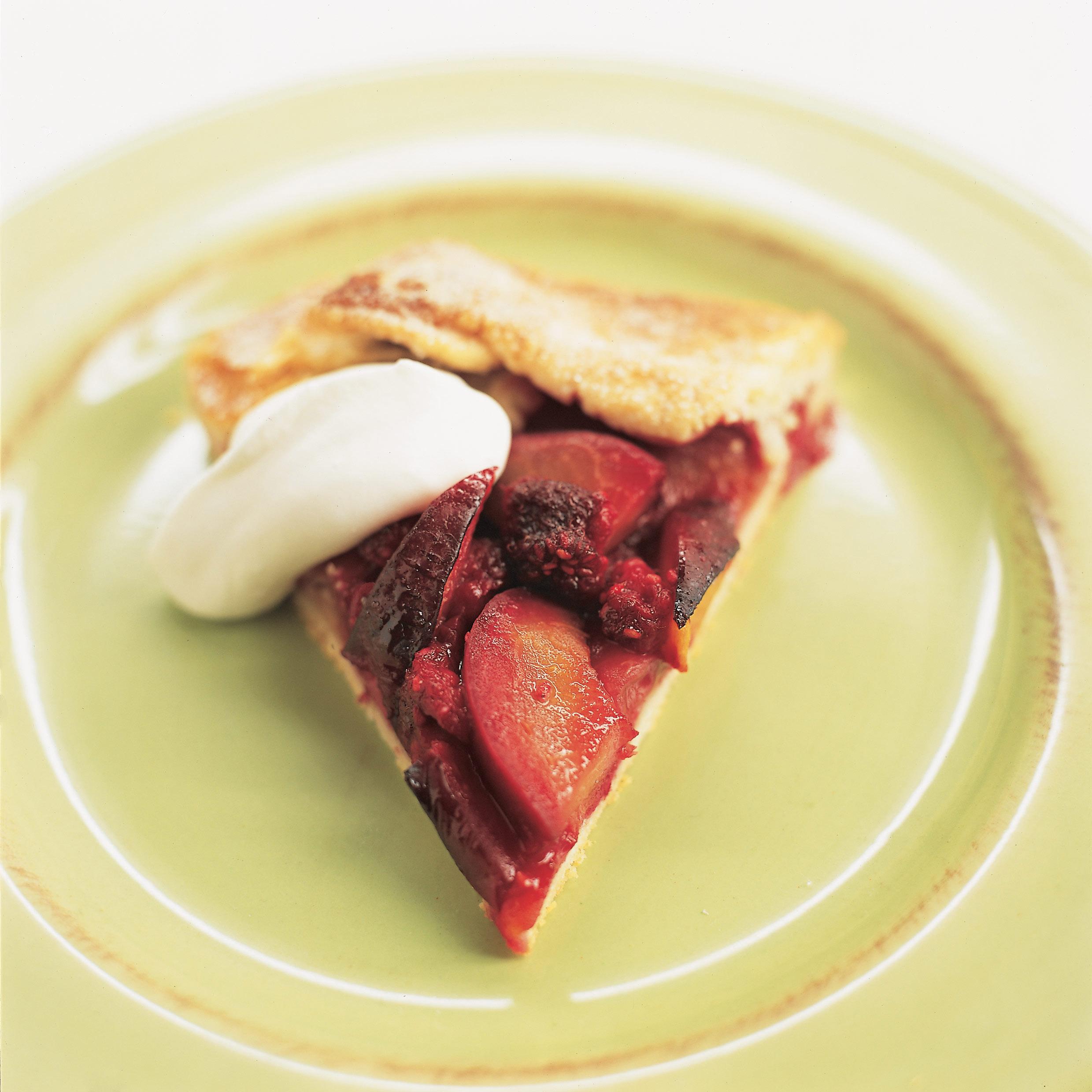 America S Test Kitchen Freeform Summer Fruit Tart