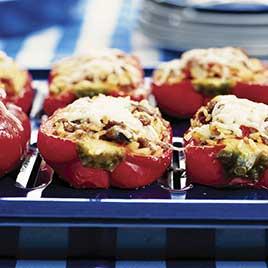 Freezer Stuffed Peppers America S Test Kitchen