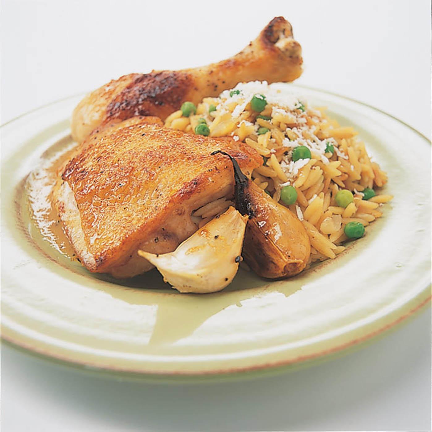 Chicken with 40 Cloves of Garlic Recipe - America's Test Kitchen
