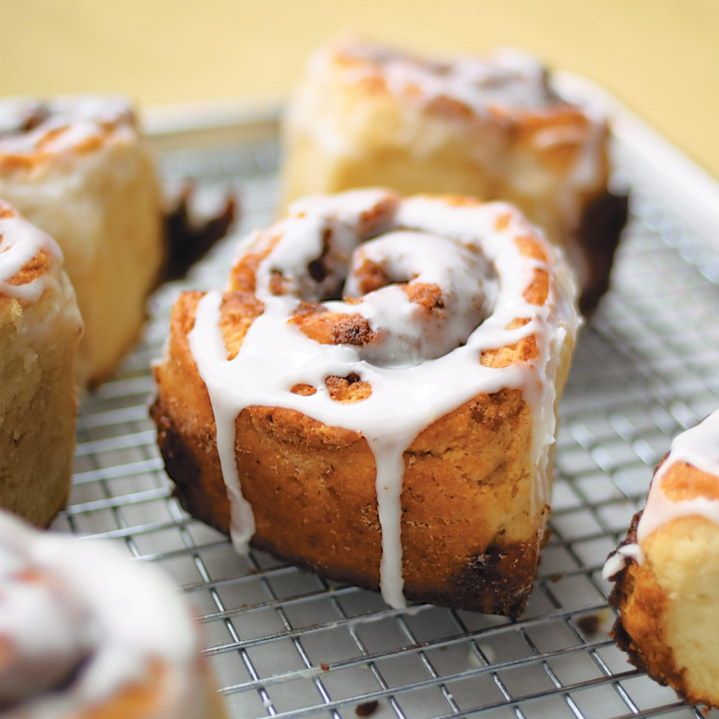 Quick Cinnamon Buns with Buttermilk Icing | America's Test Kitchen