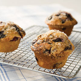 Anytime Blueberry Muffins